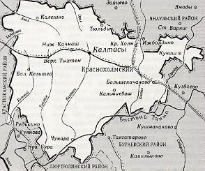 318-3 Калтасы и Калтасинский район Башкирия Посреди РУ
